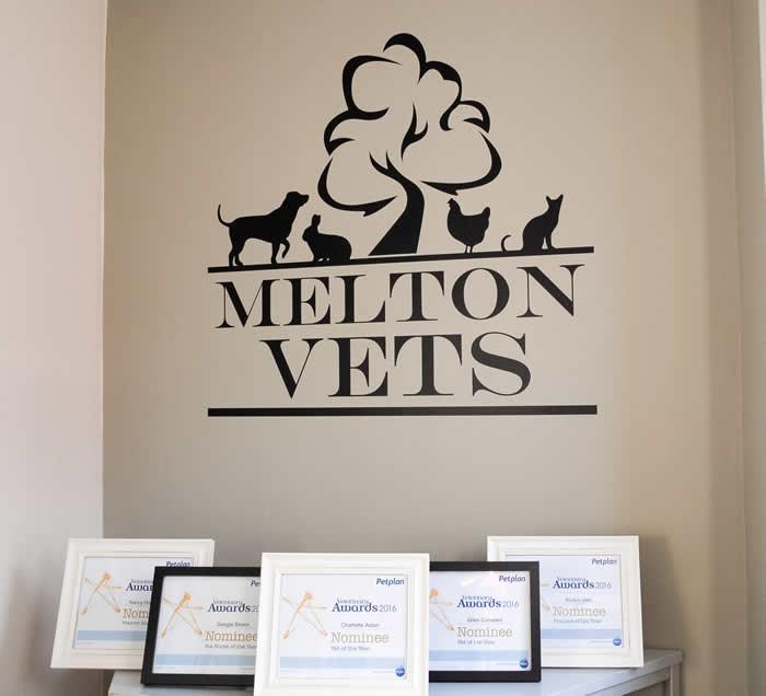 melton vets entrance